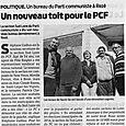 Un nouveau toit pour le PCF