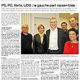 PS PC Verts UDB : la gauche part rassemblée