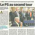 Le PS au second tour
